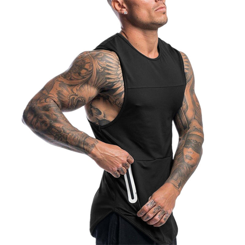 Dalim Workout Sleeveless Shirt Tank Top - Mens Trendzz