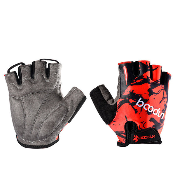 Half Finger Padded Gloves - Mens Trendzz