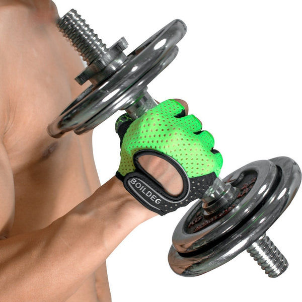 """DHUKE"" Anti-slip Weightlifting Gloves - Mens Trendzz"