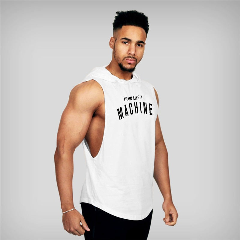 Train like a Machine Tank Top - Mens Trendzz