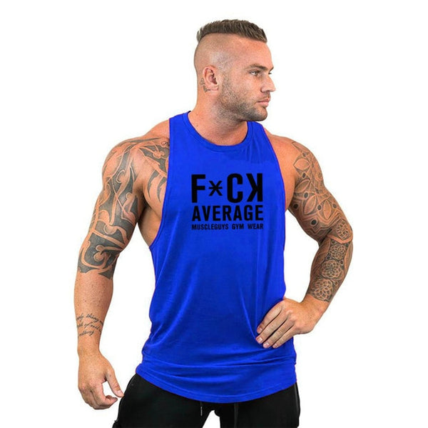 FCK Average Tank Top - Mens Trendzz