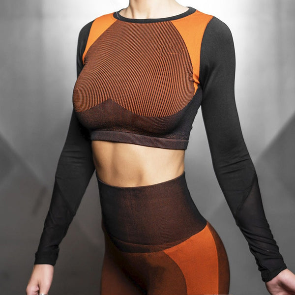 'AZORE' Seamless Yoga Suit 2 pcs - Mens Trendzz