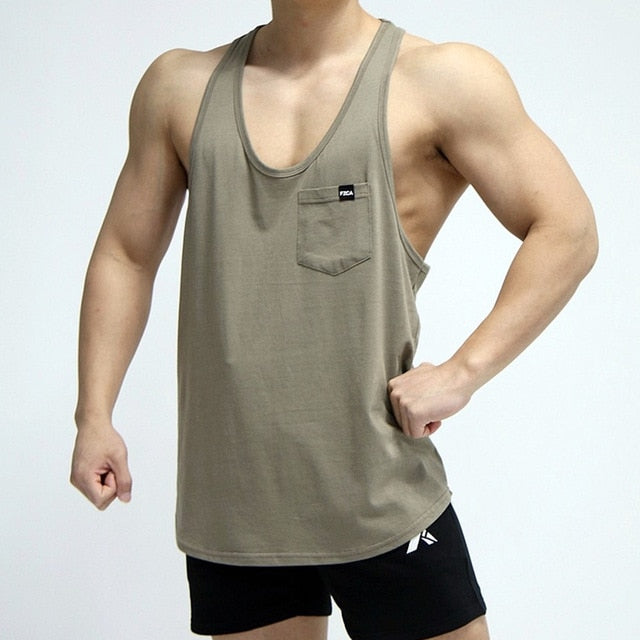 Orion Gym Workout Tank Top - Mens Trendzz