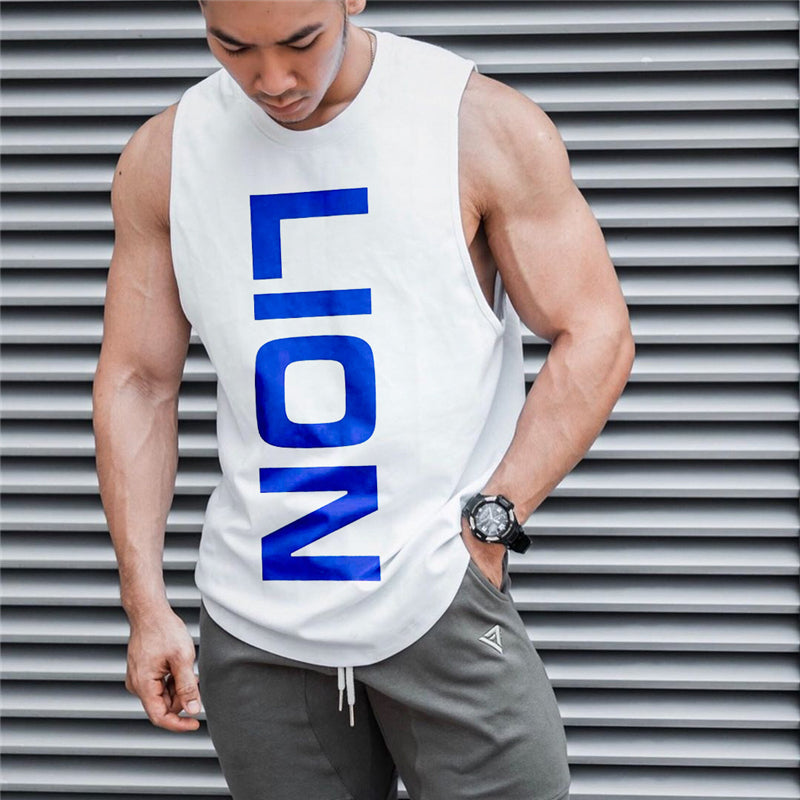 'LION' Tank Tops - Mens Trendzz