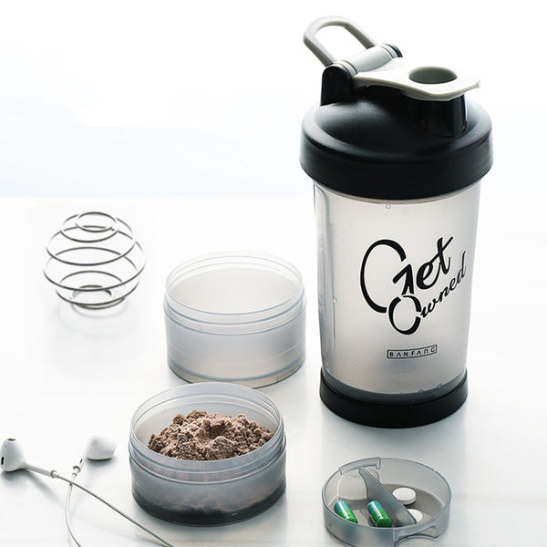 Sport Fitness Gym Shaker 500ml - Mens Trendzz