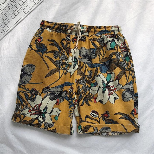Blush Printed Board Shorts - Mens Trendzz
