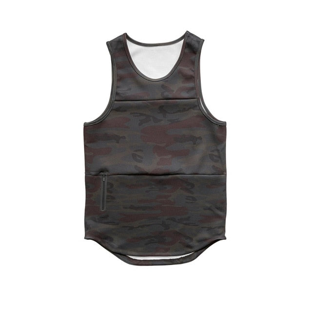 Zeke camouflage Sleeveless shirt - Mens Trendzz