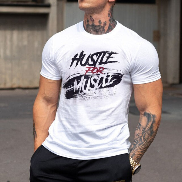 Hustle for Muscle Shirt - Mens Trendzz