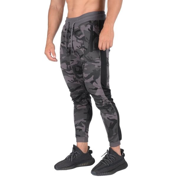 Hubble Camouflage Running Track Pants - Mens Trendzz
