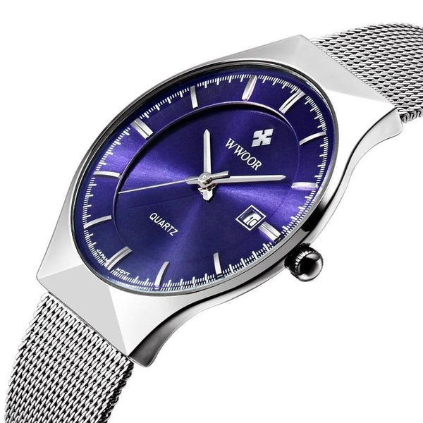 Delmor Luxury Ultra-thin Casual Watch - Mens Trendzz