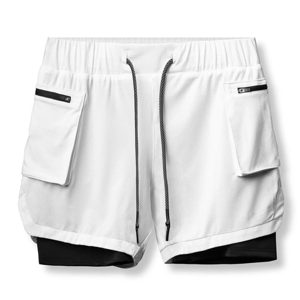 Acrux double-layer breathable Shorts - Mens Trendzz