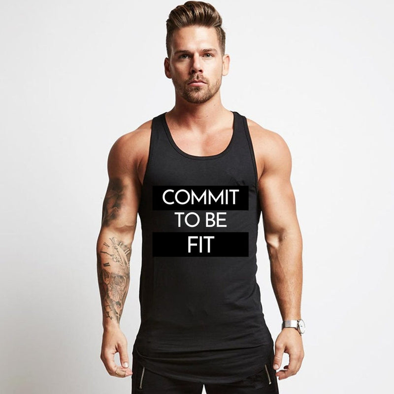 Red MT Workout Tank Top - Mens Trendzz