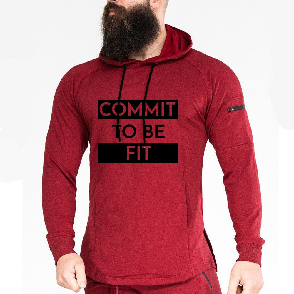 Commit to be Fit Hoodies