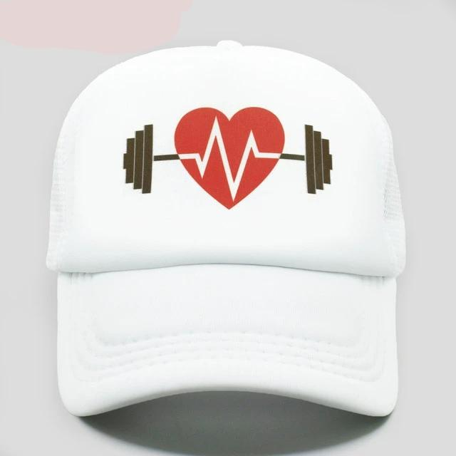 Dumbbell Mesh Cap