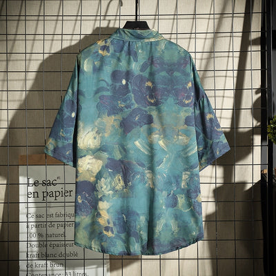 Grinch Casual Floral Shirt - Mens Trendzz
