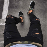 Bikers punk Jeans - Mens Trendzz