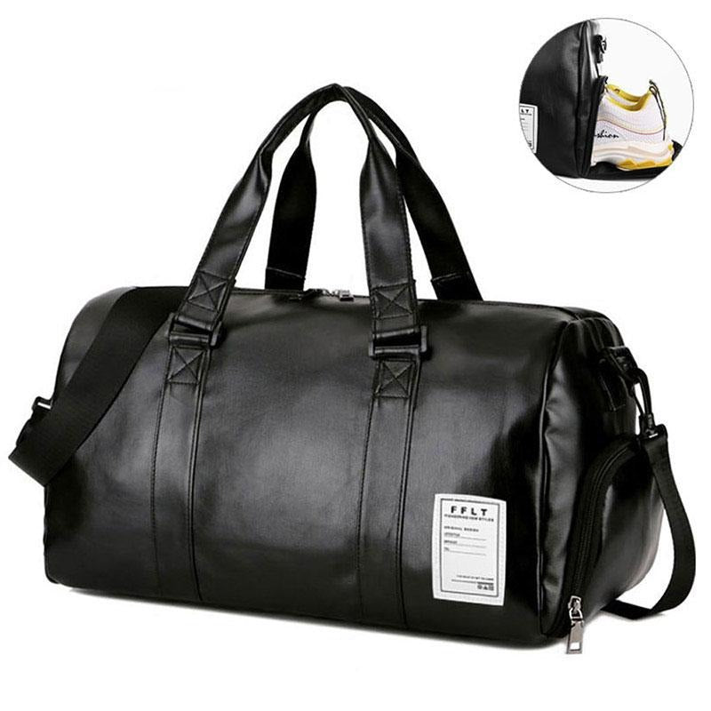 Vanchic Leather Gym Bags - Mens Trendzz