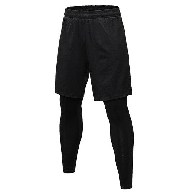 'DRAX' 2in1 Compression Set - Mens Trendzz