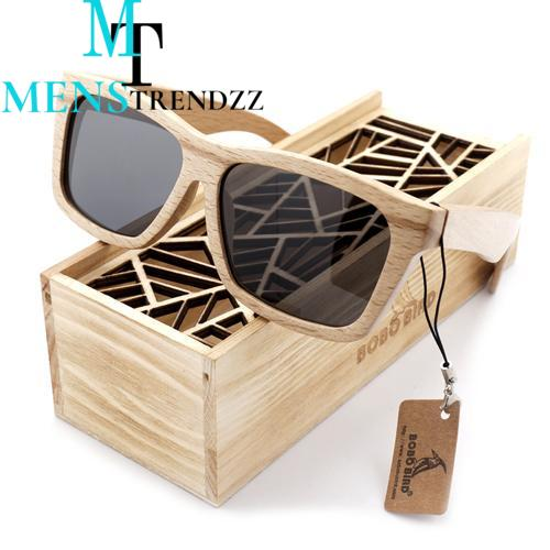 BIRD Bamboo Sunglasses