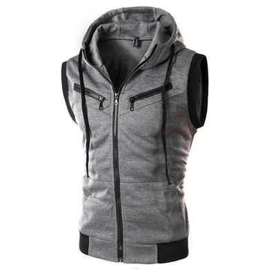 Donald Sleeveless Hoodie - Mens Trendzz