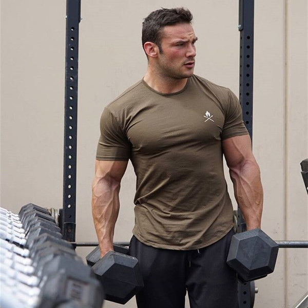 Pete's Muscular Gym Shirt - Mens Trendzz