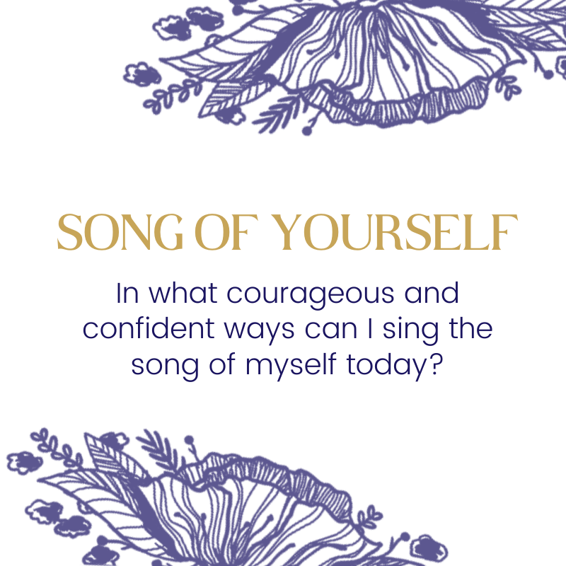 Song of Yourself™ | Holding Yourself Back