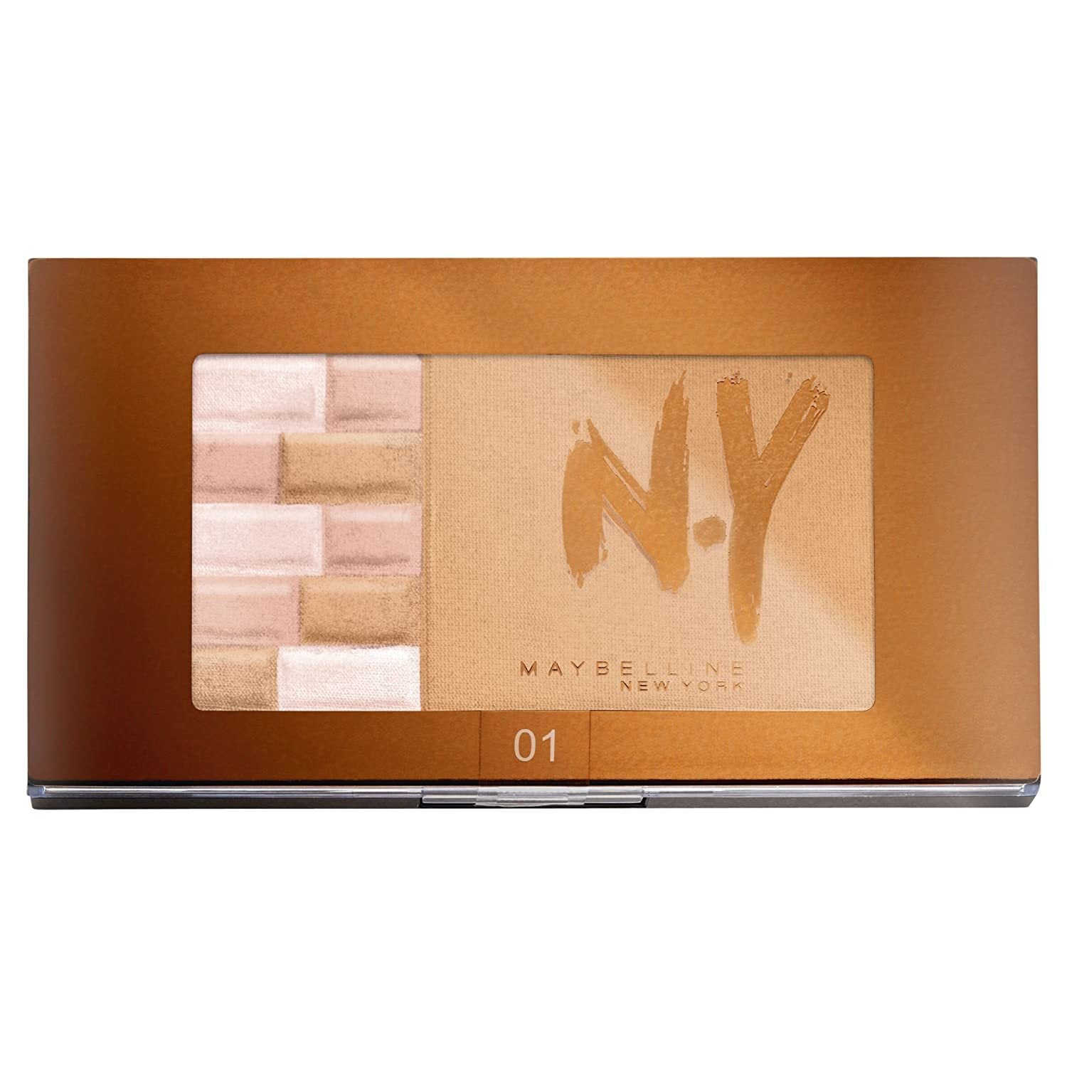 Maybelline NY Face Studio Bricks Bronzer Palette - 01 BLONDES