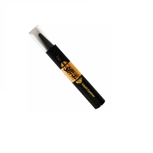 Saffron 2 in 1 Kajal & Liquid Eyeliner - BLACK