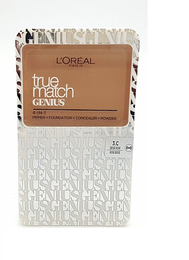 L'Oreal True Match Genius Compact Foundation - CHOICE OF SHADES