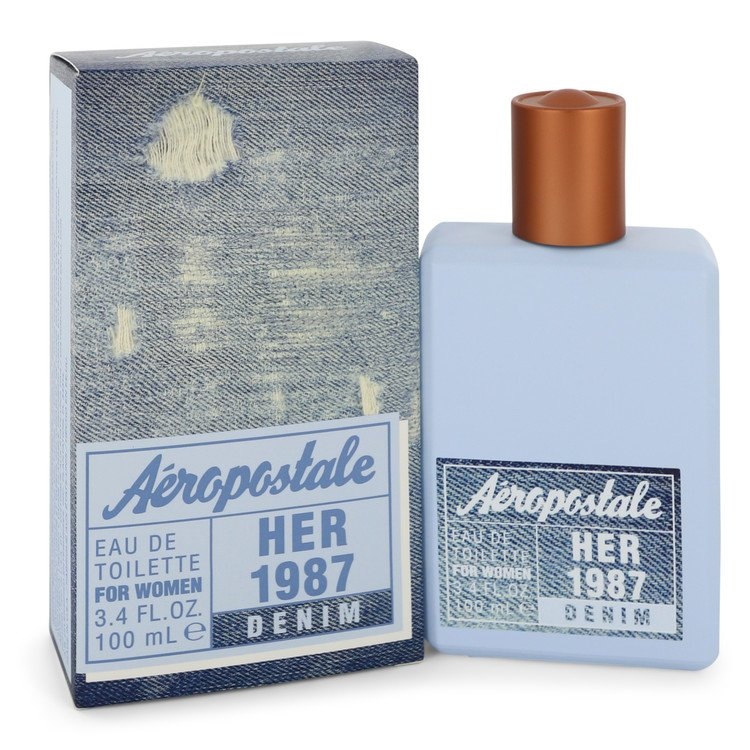 Aeropastale Her 1987 Denim Eau De Toilette Spray By Aeropostale