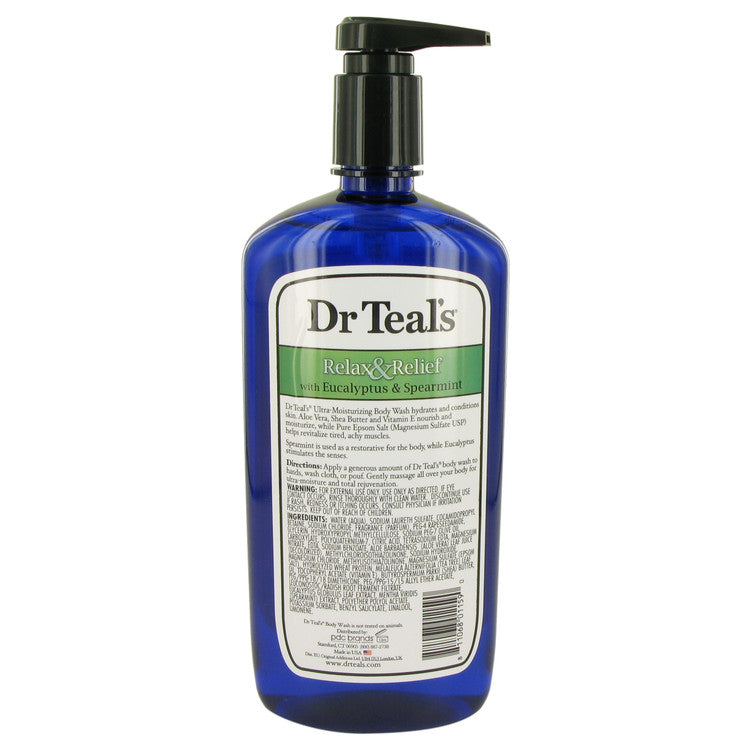 Dr Teal's Body Wash With Pure Epsom Salt Body Wash with pure epsom salt with eucalyptus & Spearmint By Dr Teal's