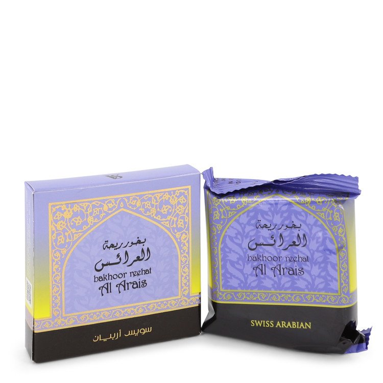 Swiss Arabian Reehat Al Arais Bakhoor Incense By Swiss Arabian