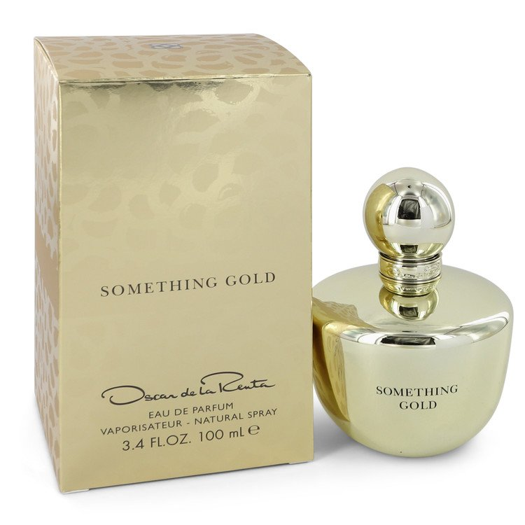 Something Gold Eau De Parfum Spray By Oscar De La Renta