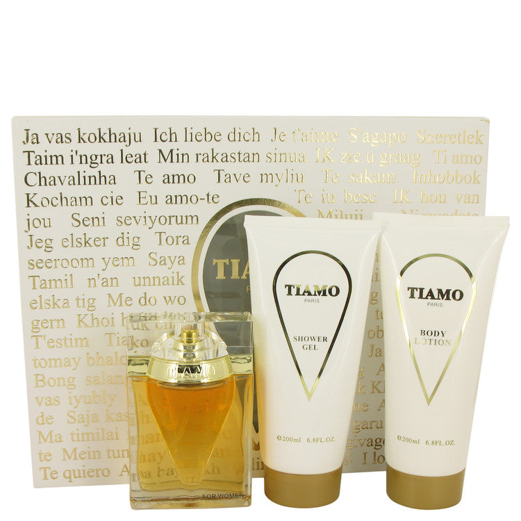Tiamo Gift Set By Parfum Blaze