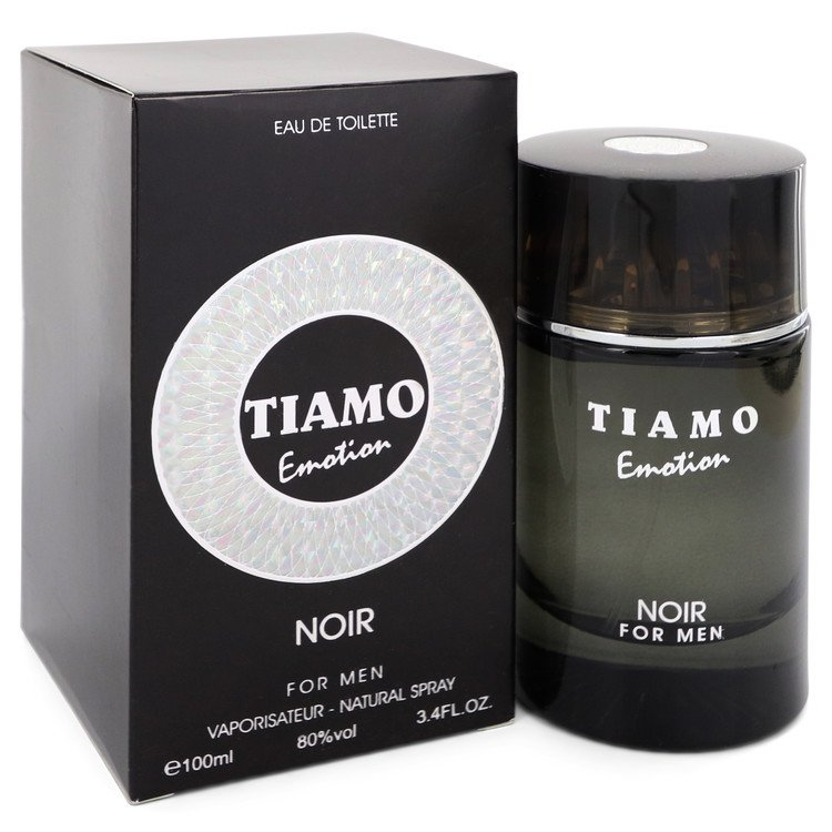 Tiamo Emotion Noir Eau De Toilette Spray By Parfum Blaze