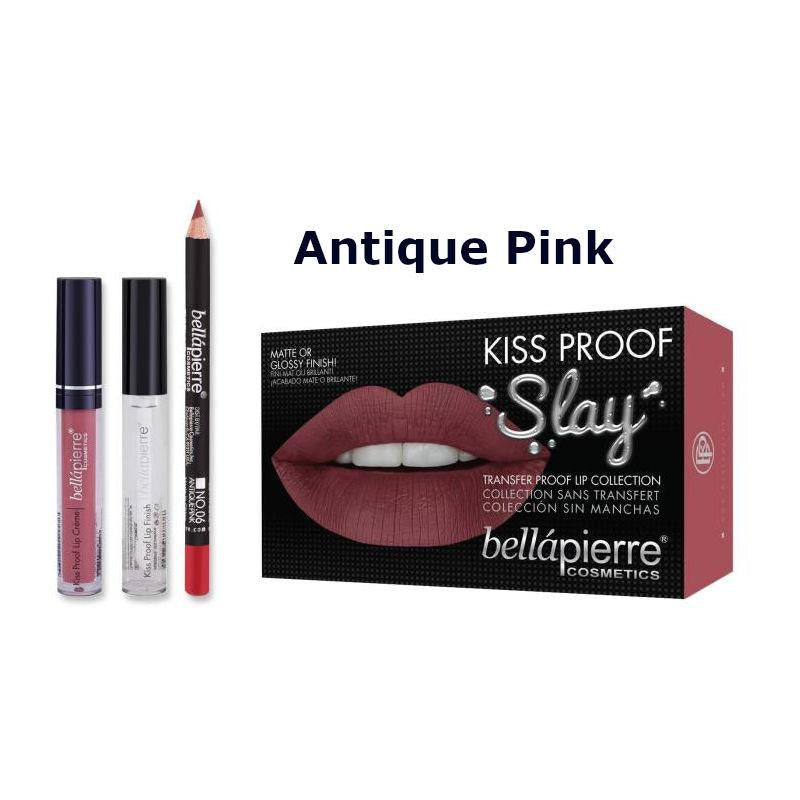 Bellapierre Kiss Proof Slay Lip Collection Liquid Lipstick Kit - CHOICE OF SHADES