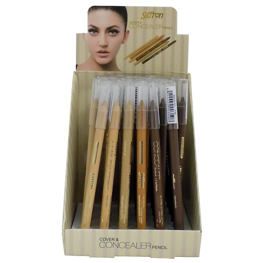 Saffron Cover & Concealer Pencil - CHOICE OF SHADES