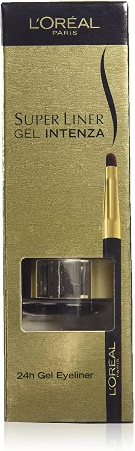 L'Oreal Superliner Gel Intenza Eyeliner - 02 GOLDEN BLACK