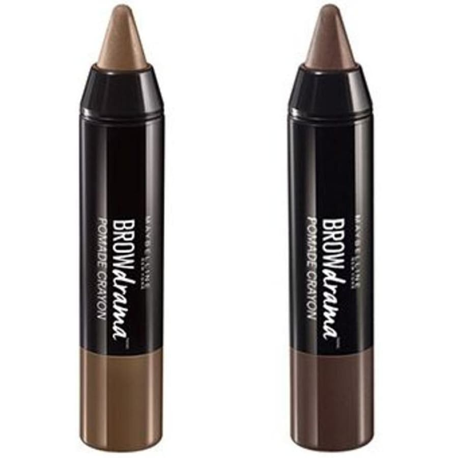Maybelline Brow Drama Pomade Crayon - CHOICE OF SHADES - Medium Brown - Eyebrow Pencil