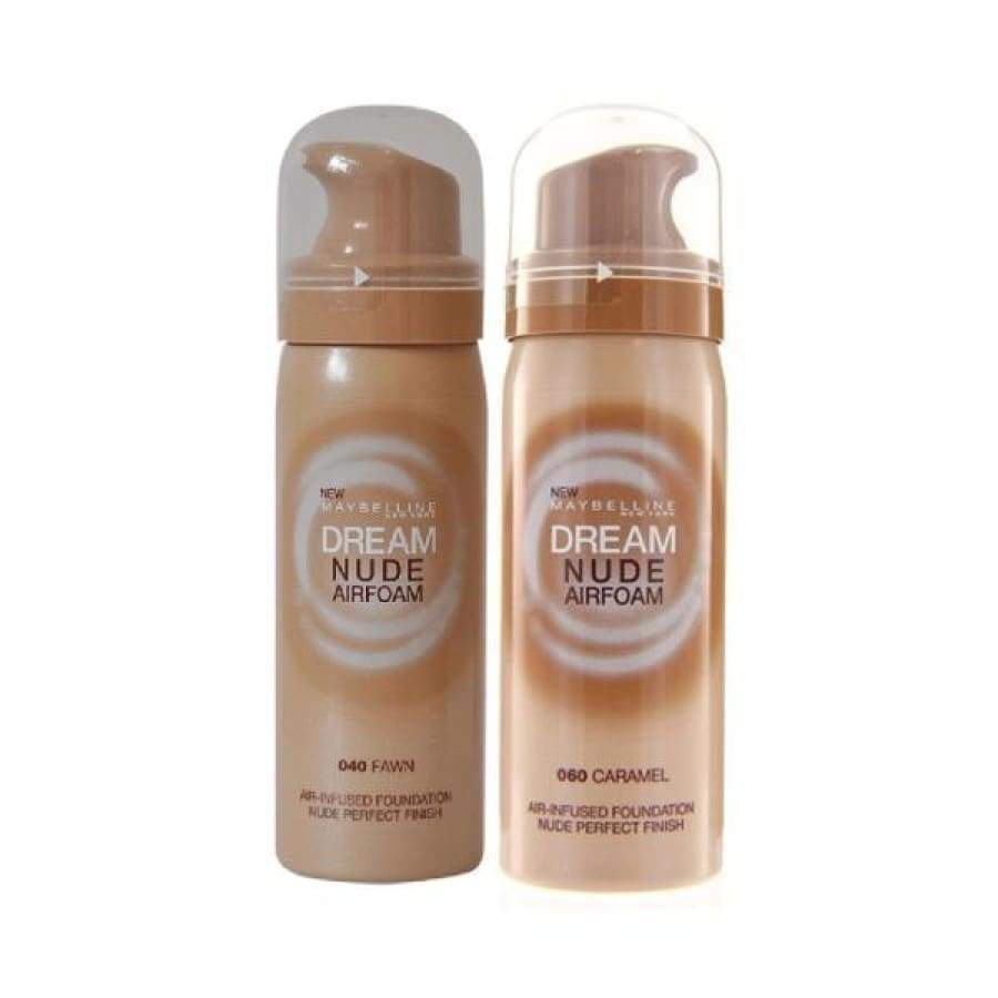 Maybelline Dream Nude Airfoam Foundation - CHOICE OF SHADES