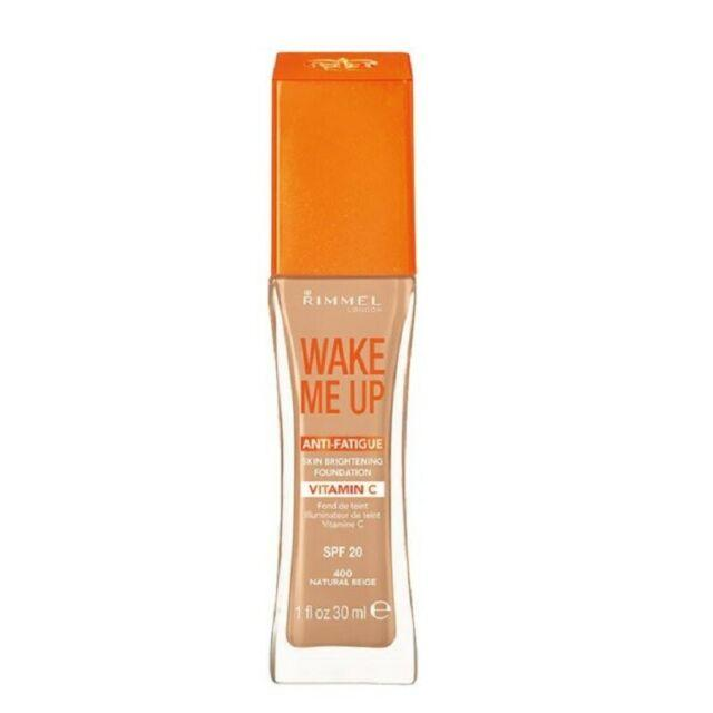 Rimmel Wake Me Up Anti-Fatigue Foundation - CHOICE OF SHADES