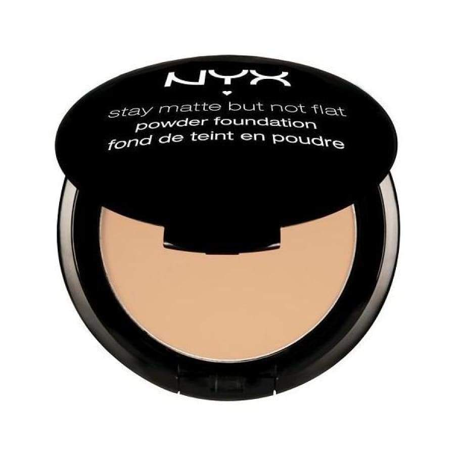 NYX Stay Matte But Not Flat Powder Foundation - OLIVE - Foundation/Powder
