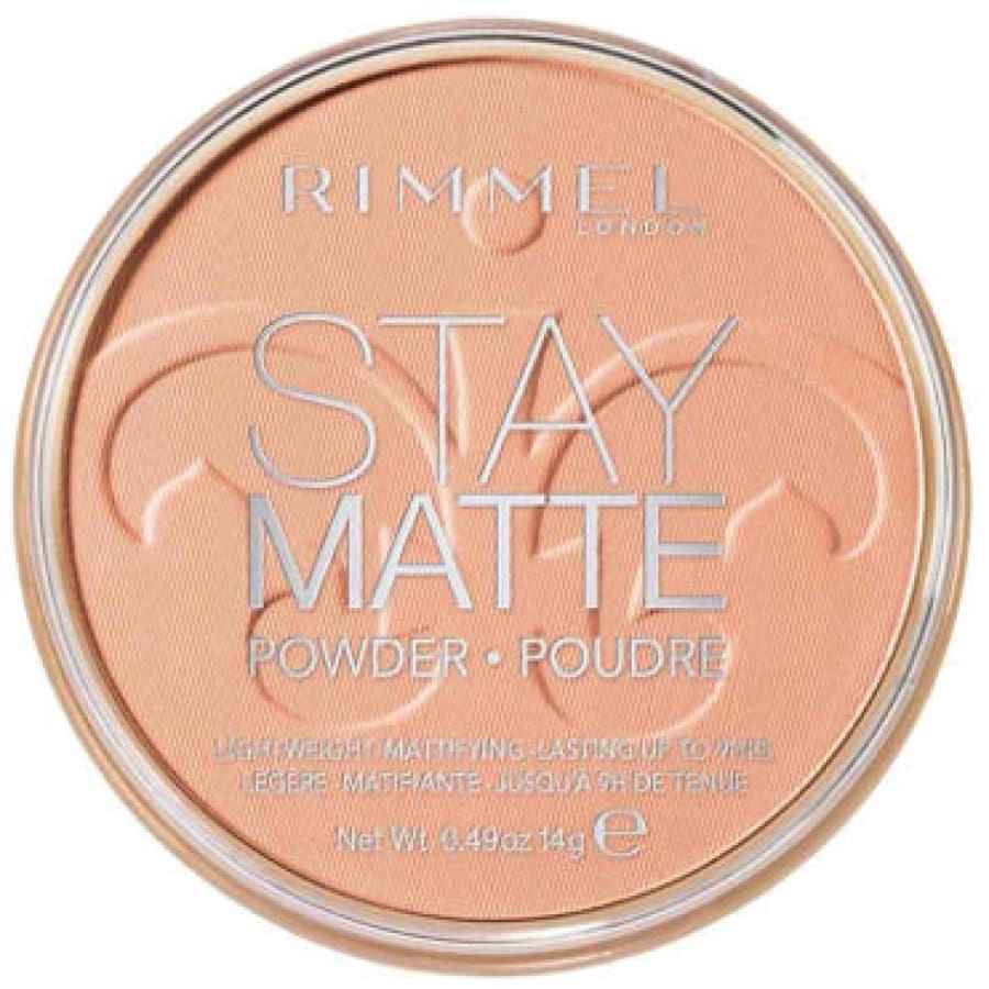 Rimmel Stay Matte Long Lasting Pressed Powder - 011 CREAMY NATURAL