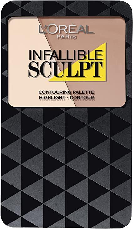 L'Oreal Infallible Sculpt Contouring Palette - CHOICE OF SHADES