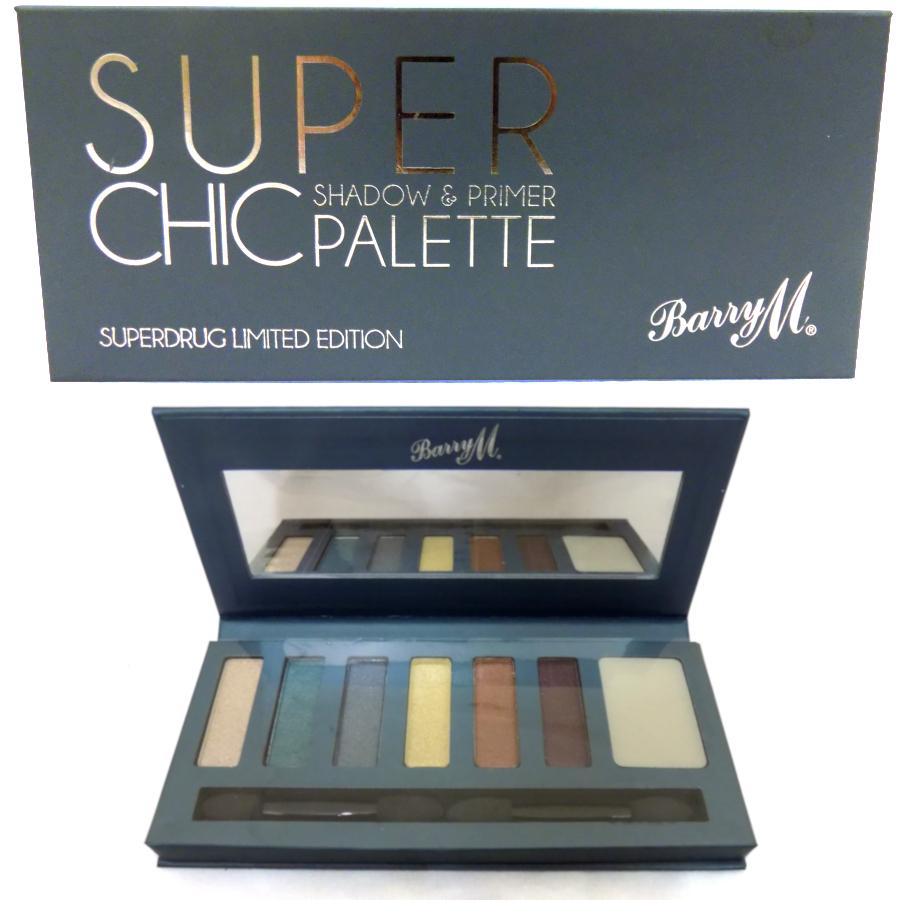 Barry M Super Chic Shadow & Primer Palette