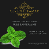 Pure peppermint Tea with more healthy benefits