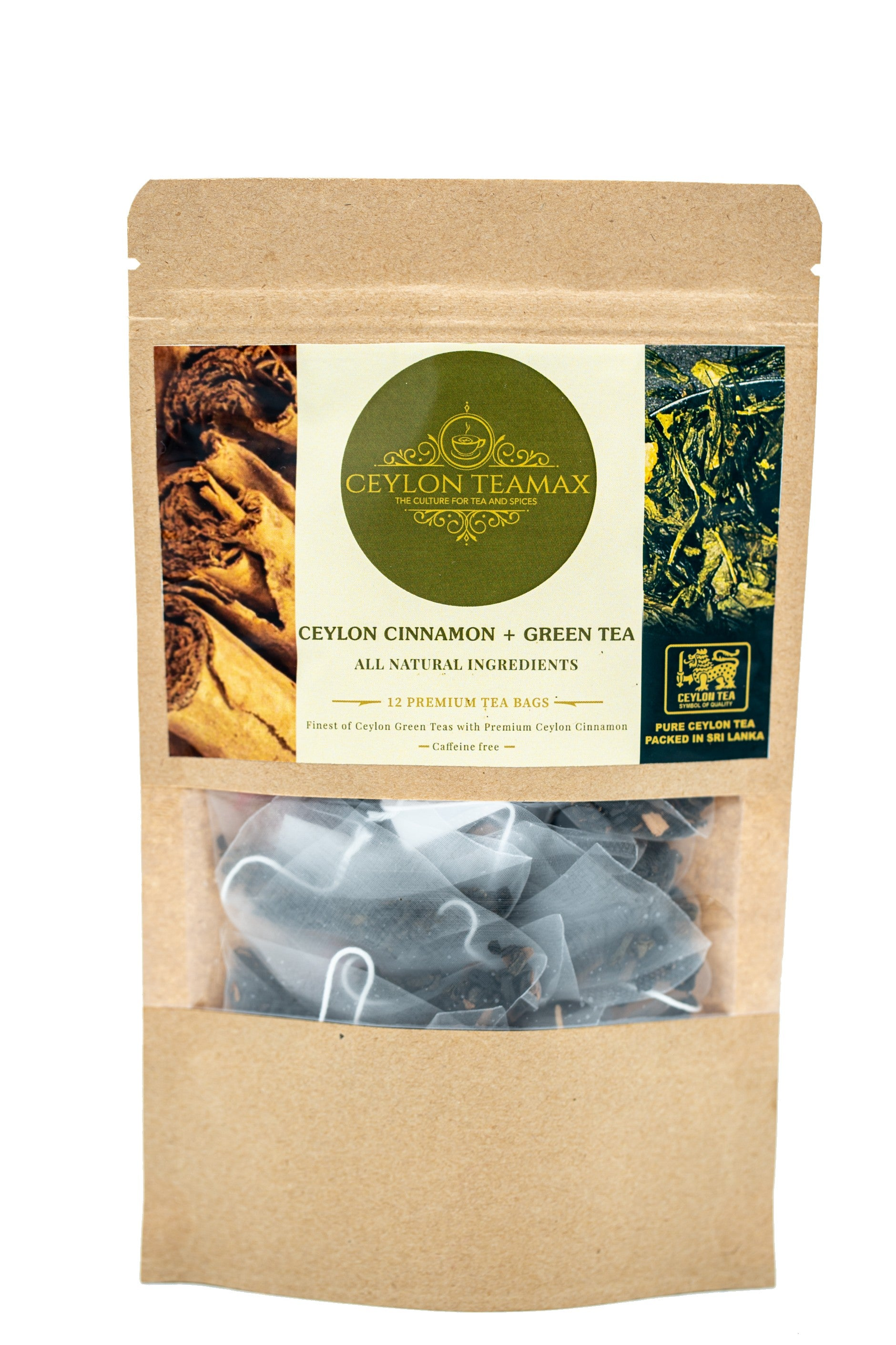 Ceylon Cinnamon with Green Tea