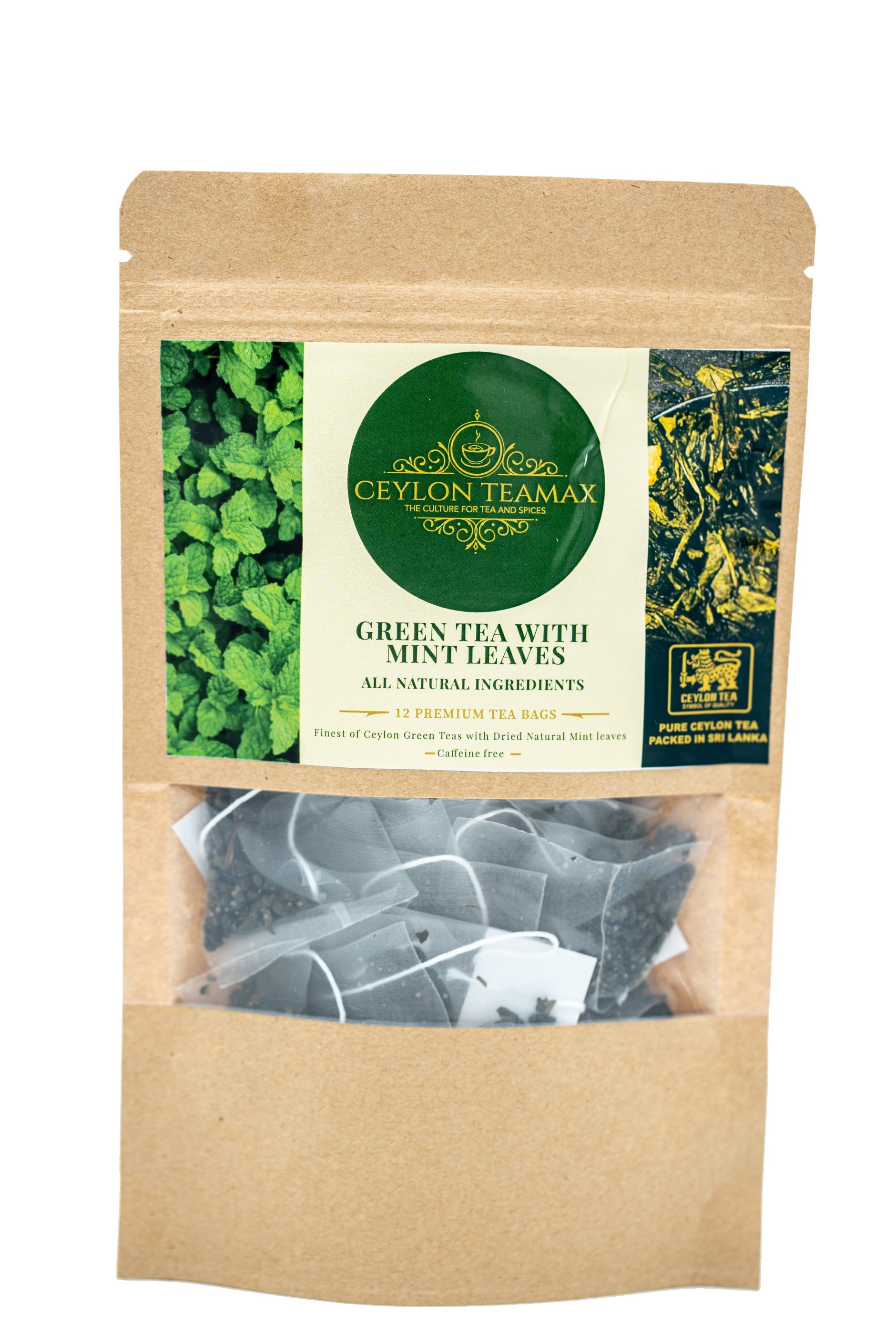 Ceylon Green Tea with Mint