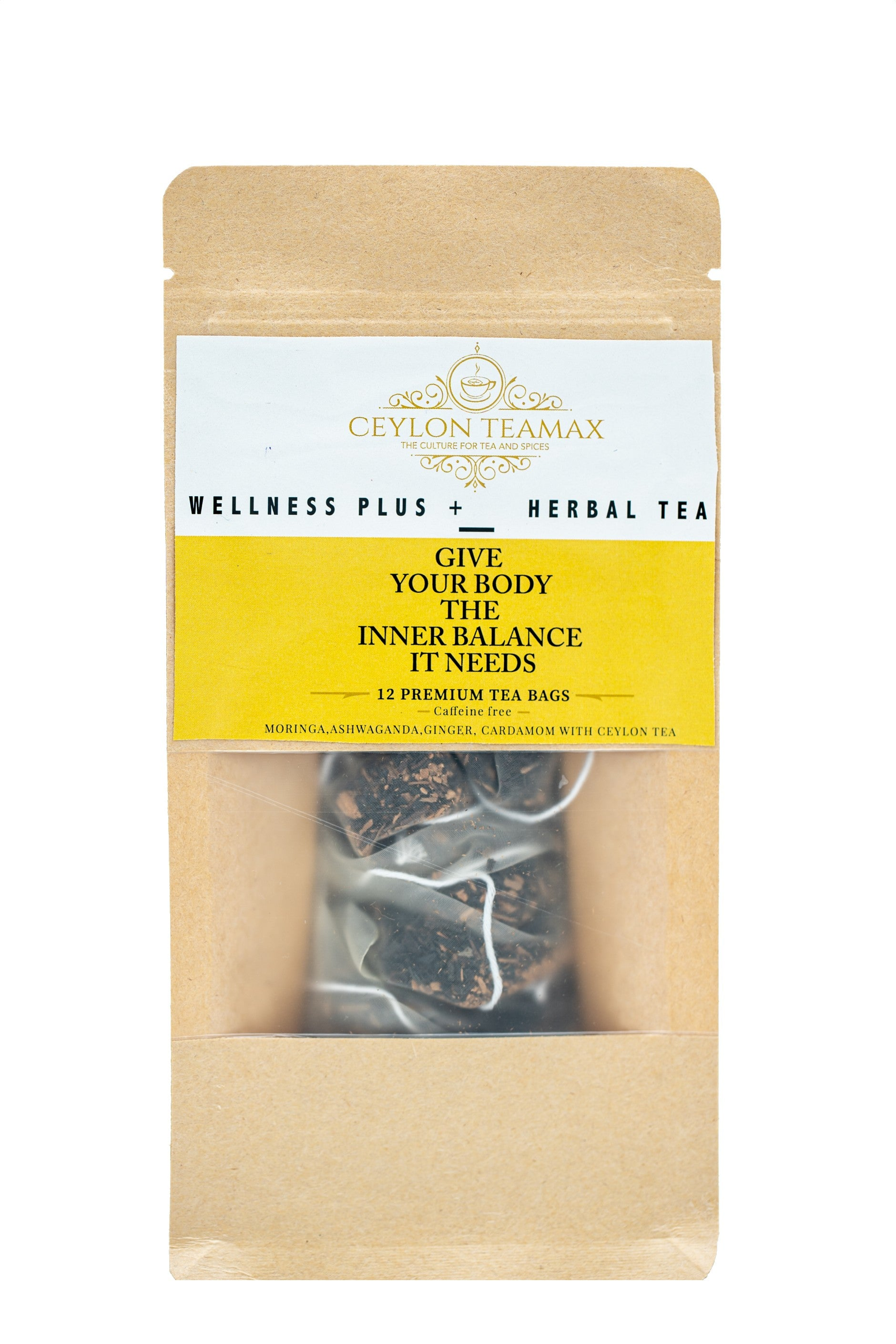 Ceylon wellness plus herbal tea