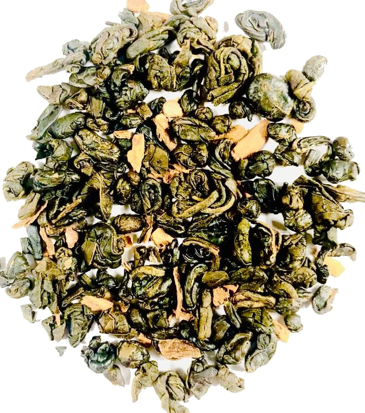 Green Tea with Ceylon Cinnamon
